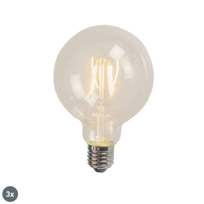 3er-Set-E27-LED-Leuchtmittel-G125-4W-320-lm-2700K