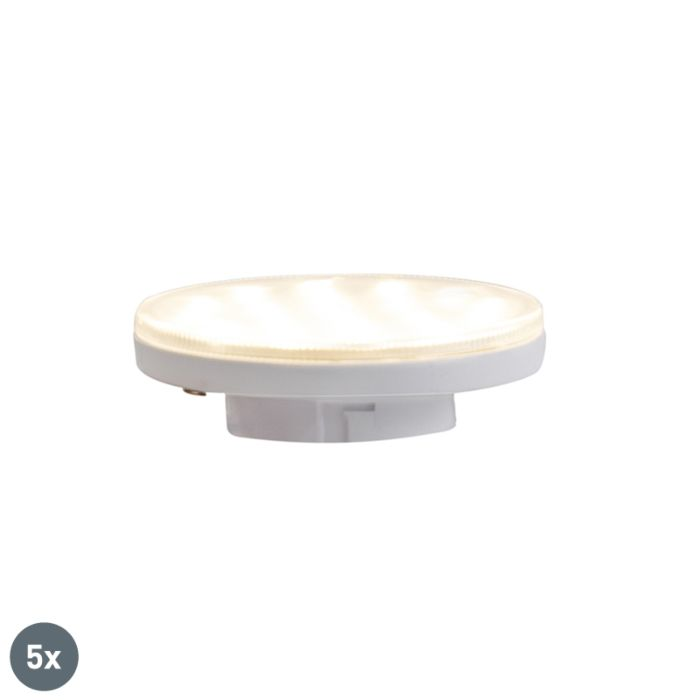 Set-mit-5-3-stufigen-dimmbaren-LED-Leuchten-GX53-3W-350-lm-3000K