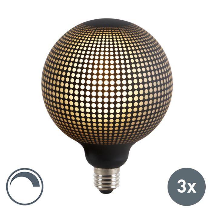 Set-mit-3-dimmbaren-LED-Globuslampen-E27-DECO-4W-100-lm-2700K