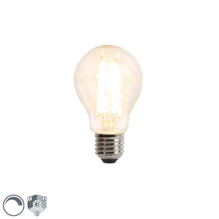 E27-3-stufige-dimmbare-LED-Glühlampe-6W-480-lm-2700K