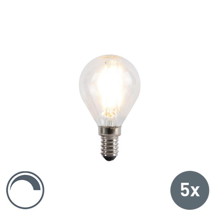5er-Set-E14-dimmbare-LED-Glühlampen-5W-470lm-2700K