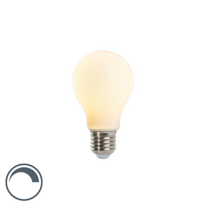 E27-dimmbare-LED-Glühlampe-A60-Opalglas-5W-410-lm-2350K