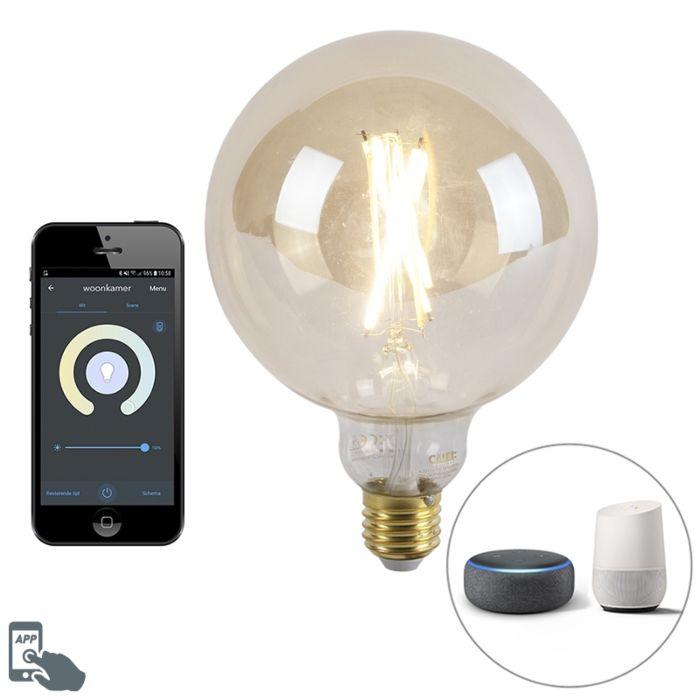 Smart-E27-dimmbare-LED-Lampe-mit-ca.-806-lm-1800-3000K