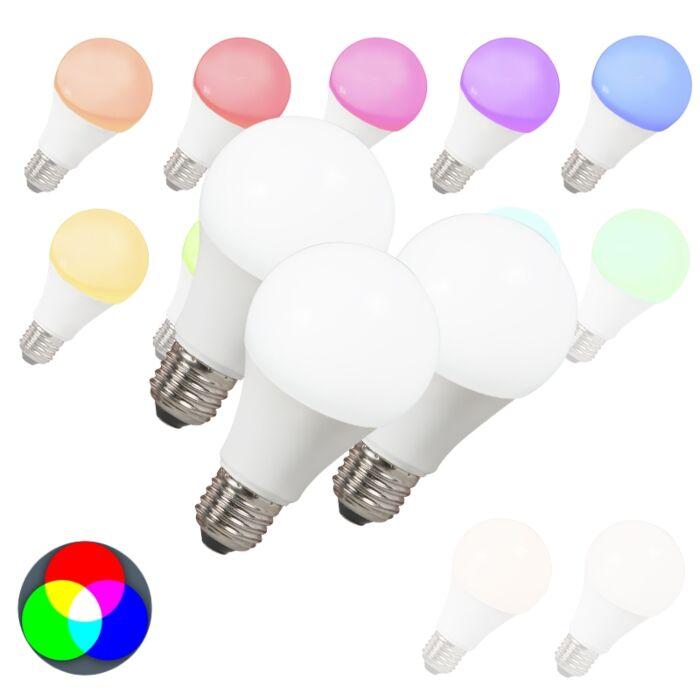 3er-Set-LED-Leuchtmittel-E27-240V-7W-500lm-A60-Smart-Light