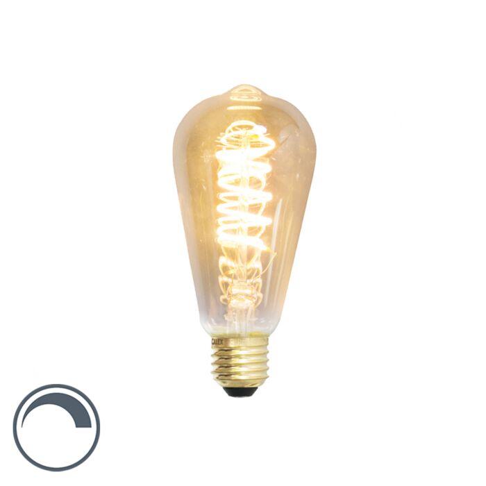 E27-dimmbare-LED-Spirallampe-ST64-4W-200-Lumen-2100K