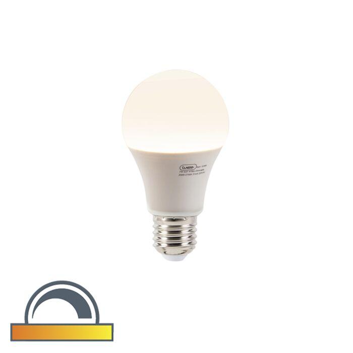 E27-dimmbare-LED-Lampe-A60-7W-470-Lumen-2000-2700K-schwach-bis-warm