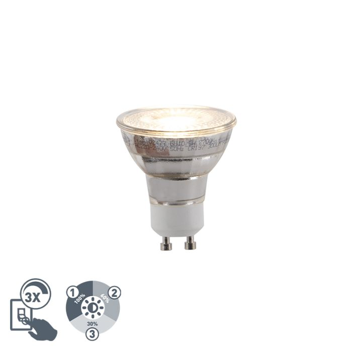 GU10-3-stufige-dimmbare-LED-Lampe-5W-300lm