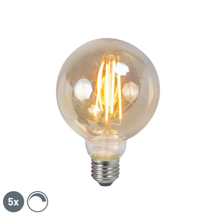 5er-Set-E27-dimmbare-LED-Lampe-5W-450lm-2200K