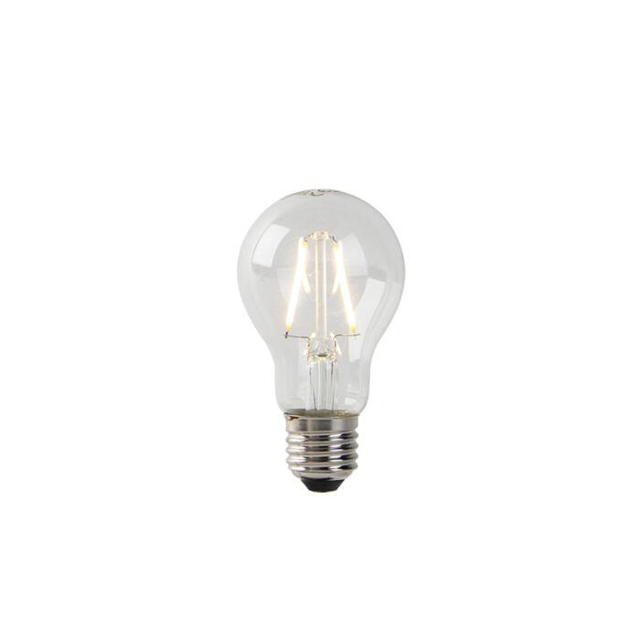 E27-LED-Glühlampe-A60-2W-220-lm-2700K