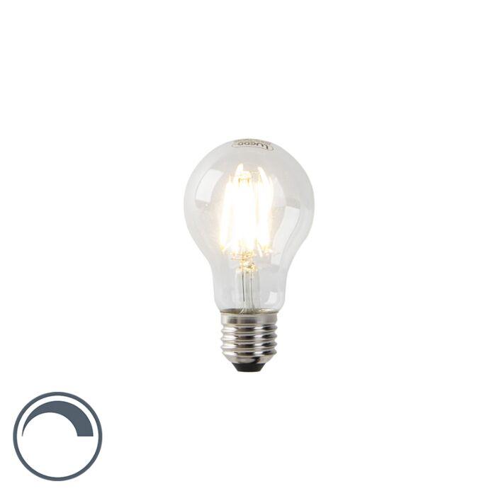 LED-Lampe-A60-E27-7W-2700K-klares-Filament-dimmbar