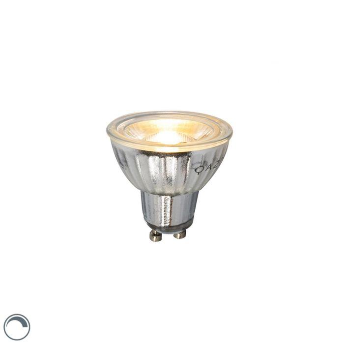 GU10-LED-Lampe-7W-500LM-2700K-dimmbar