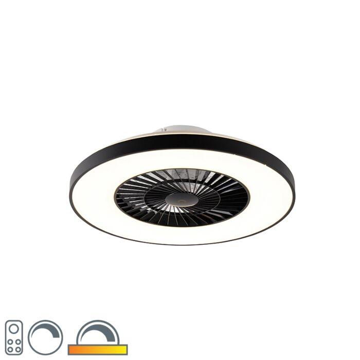 Deckenventilator-schwarz-inkl.-LED-mit-Fernbedienung---Climo