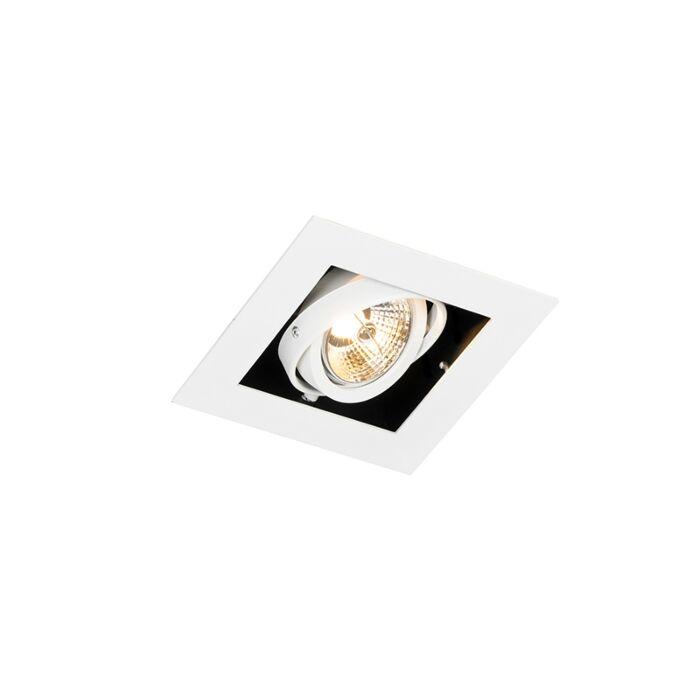 Moderner-Einbaustrahler-weiß-verstellbar---Oneon-70