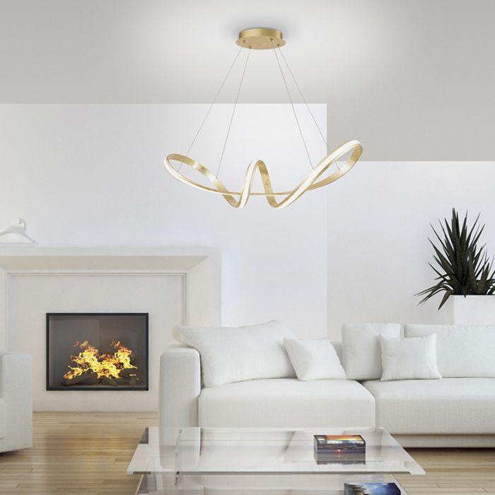 Design-Hängelampe-Gold-inkl.-LED-80-cm---Belinda