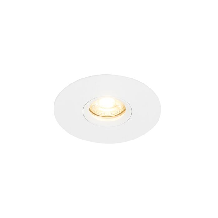Moderner-Einbaustrahler-weiß-12-cm---Buco