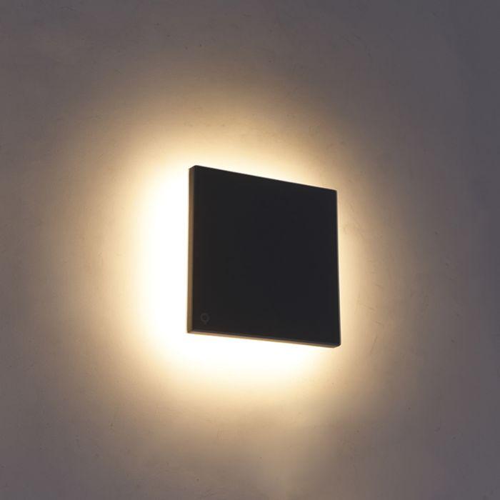 Design-Wandleuchte-grjis-15-cm-inkl.-LED-IP54---Skyf