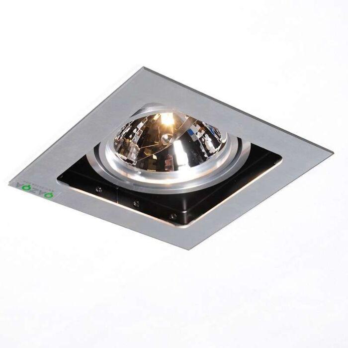 Einbauspot-Qure-1-Aluminium