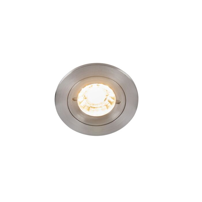 Moderner-Einbau-Spot-Aluminium-IP44---Xena-Round