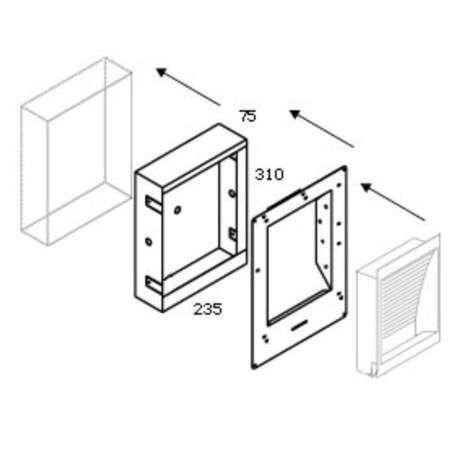 Delta-Light-Concrete-Box-139-mit-Kunststoffbausatz