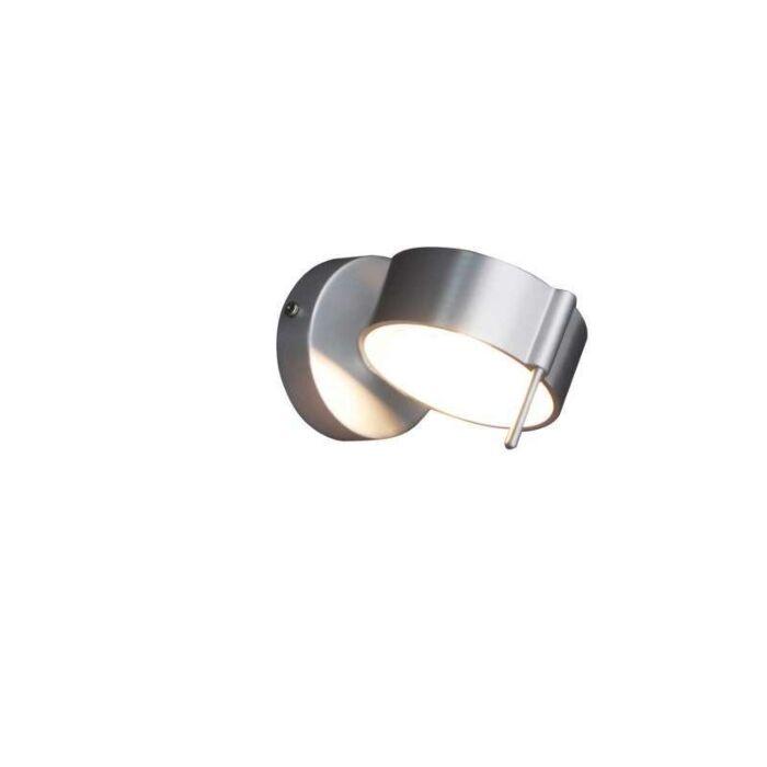 Wandleuchte-Eye-1-Aluminium