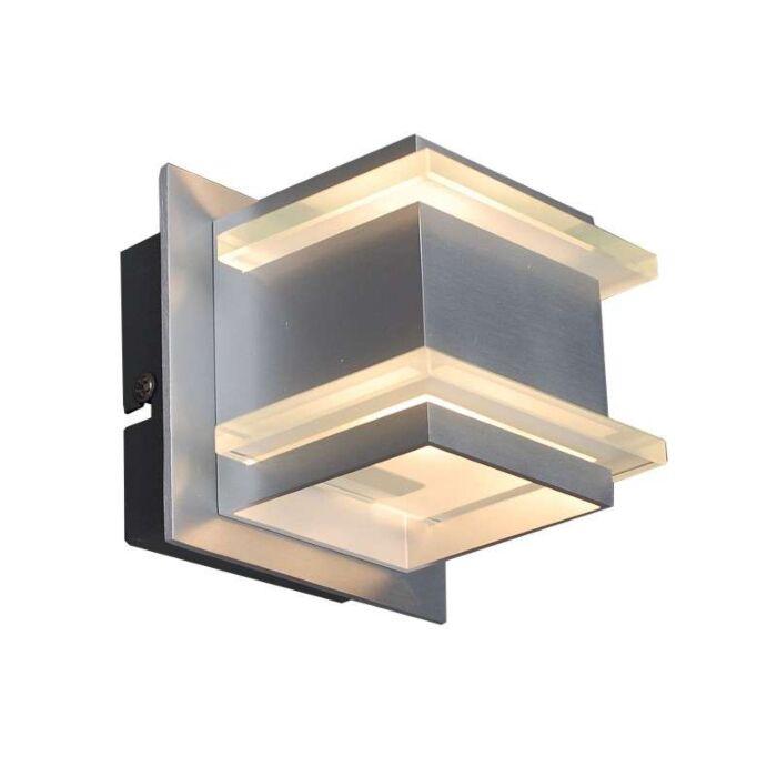 Design-Wandleuchte-Aluminium---Block