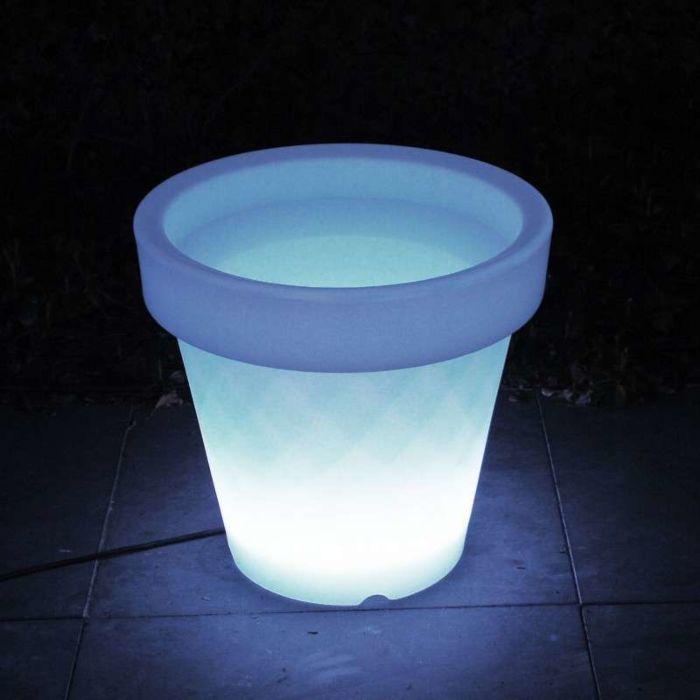 Beleuchtetes-LED-Blumentopfmedium