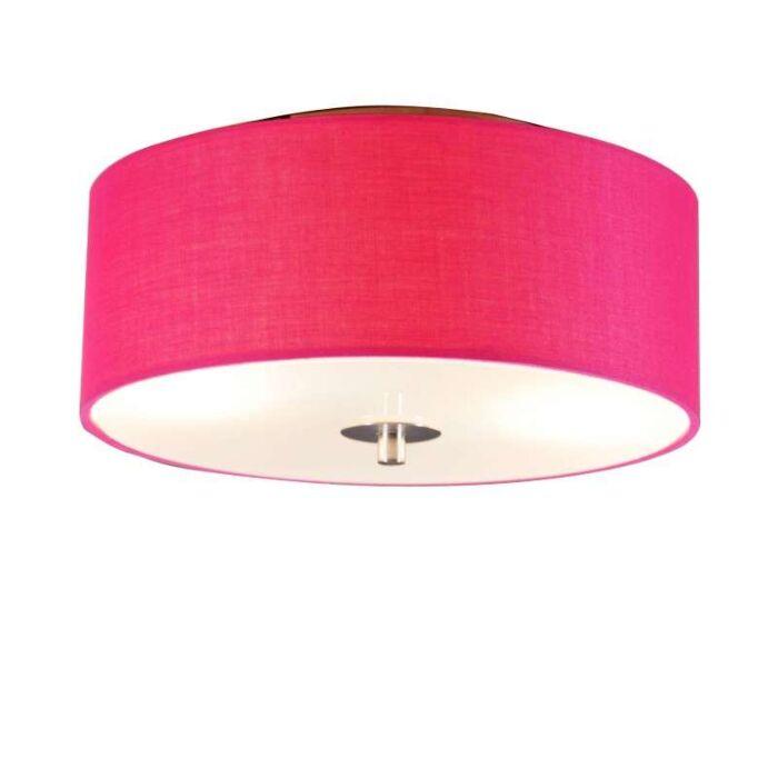 Deckenleuchte-Drum-30-um-pink