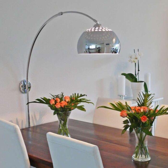 Bogenlampe-Wand-Chrom