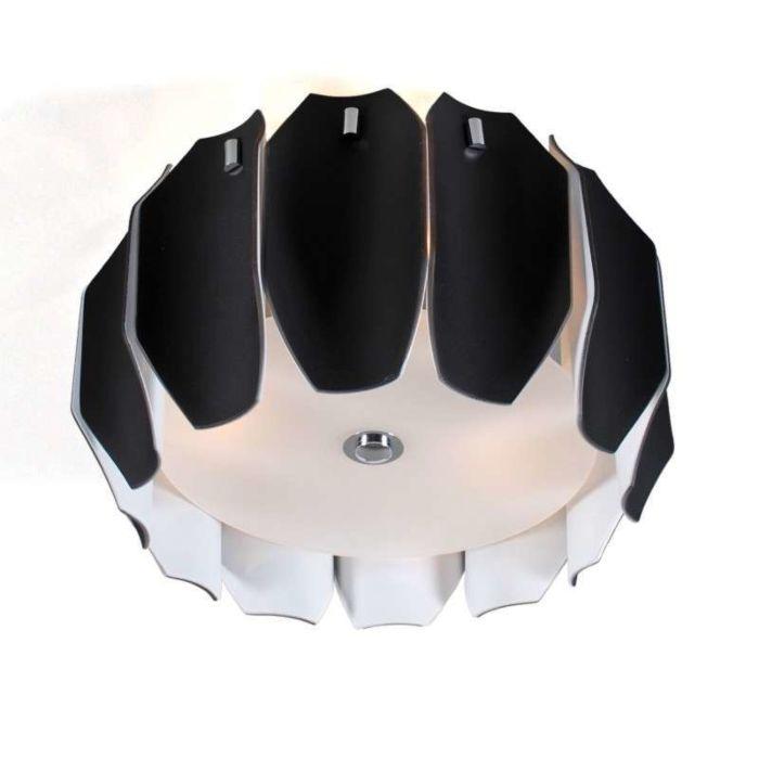 Deckenleuchte-Archo-40-chrom---schwarz