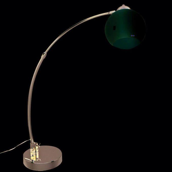 Bogenlampe-chrom-mit-weiß