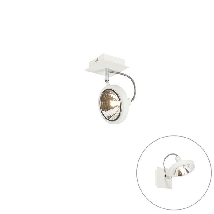 Design-Spot-weiß-1-flammig-einstellbar---Nox