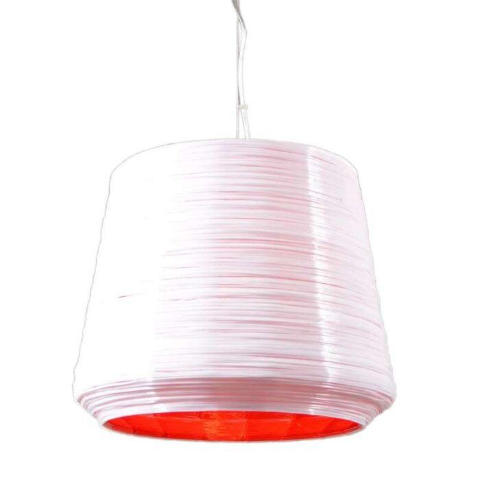 Pendelleuchte-Como-38-weiß-mit-rot