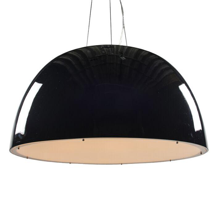 Hängelampe-Glossy-100cm-schwarz