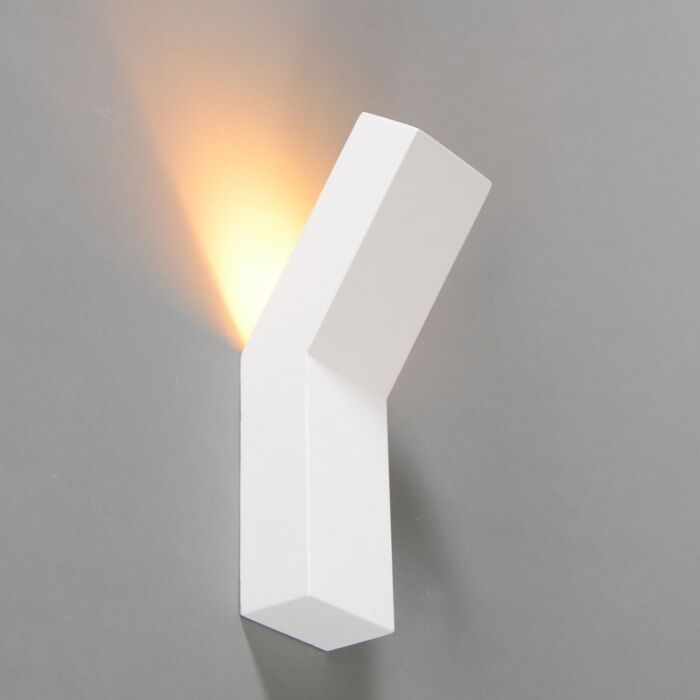 Design-Wandleuchte-weiß---Gipsy-Lyon-I.