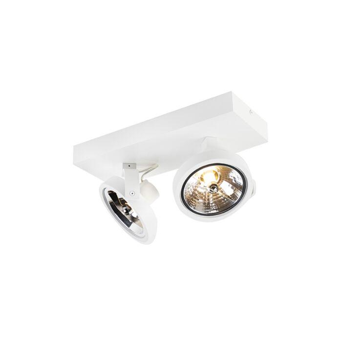 Designspot-weiß-verstellbar-2-flammig-inkl.-LED---Go