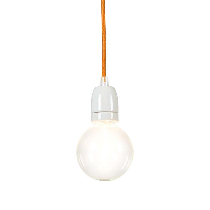 Cavo-orange-Hängelampe