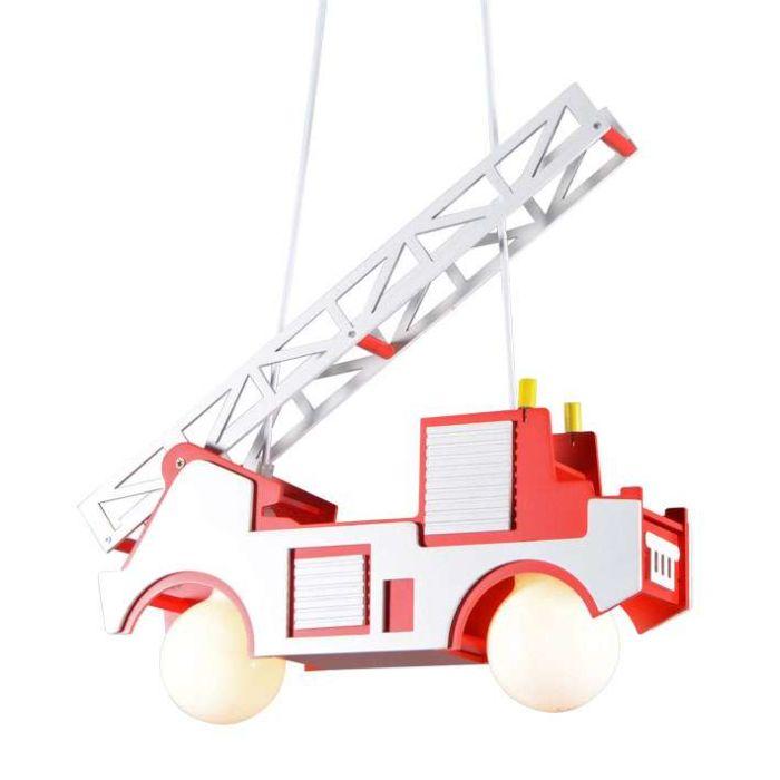 Kinder-Feuerwehr-Hängelampe