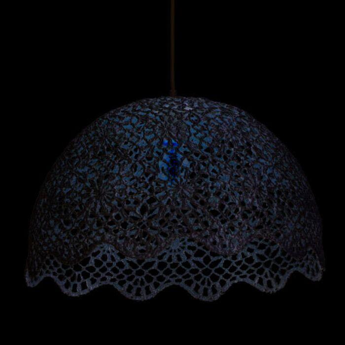 Hängelampe-Crochet-2-weiß