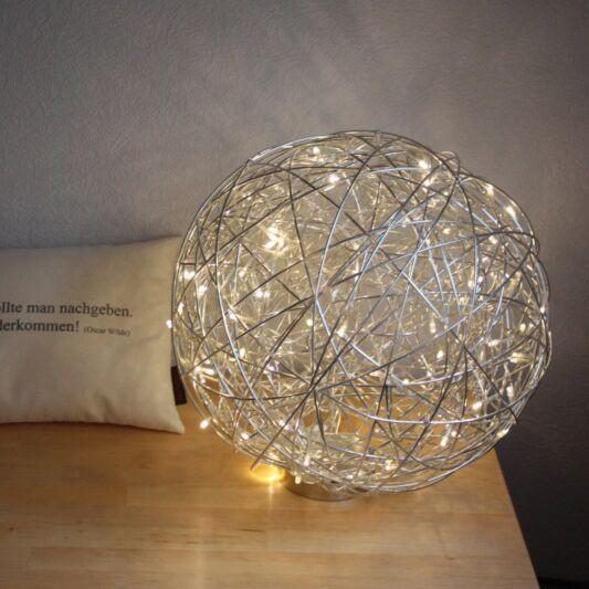 Draht-Stehleuchte-40cm-LED-Aluminium