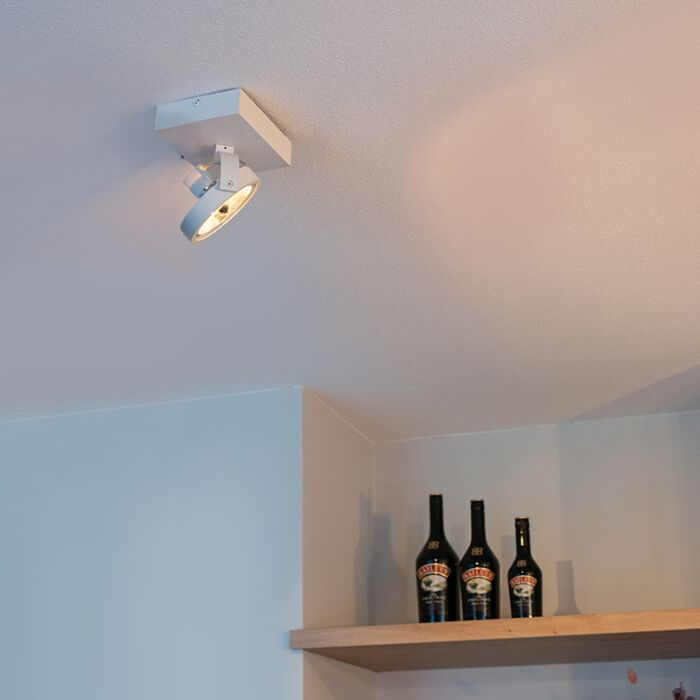 Design-spot-weiß-verstellbar-1-flammig-inkl.-LED---Go