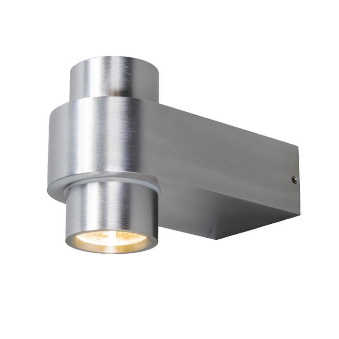 Wandleuchte-Win-2-LED-Aluminium