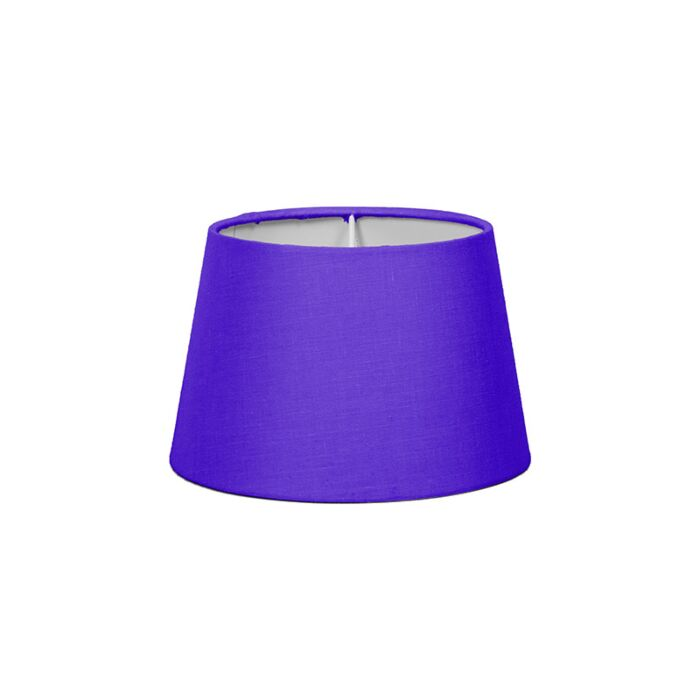 Lampenschirm-18cm-rund-violett