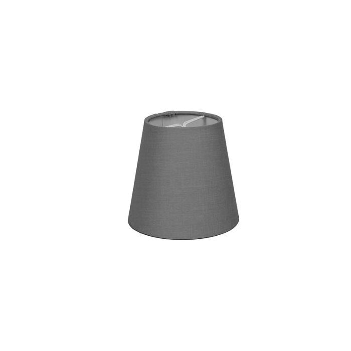 Clipverschluss-12-cm-rund-SC-grau