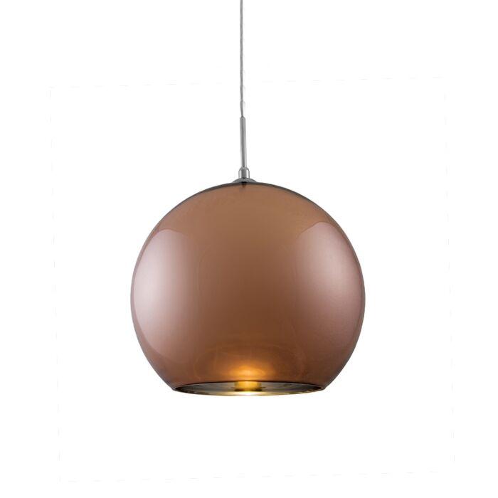 Hängelampe-Ball-35-Kupfer