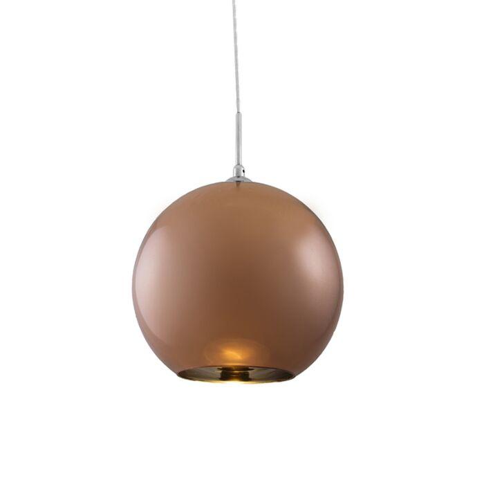 Hängelampe-Ball-30-Kupfer