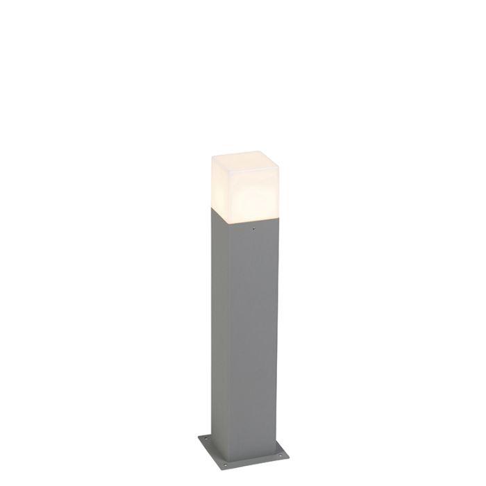 Moderne-Außenstehleuchte-50-cm-grau-IP44---Dänemark