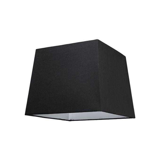 Haube-30-cm-eckig-VE-E27-schwarz