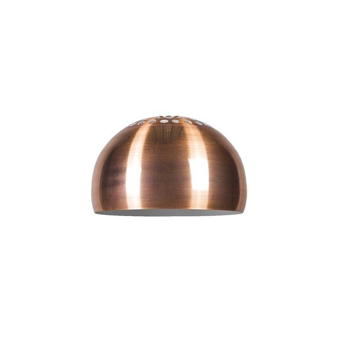 Hood-Globe-33cm-Kupfer-matt