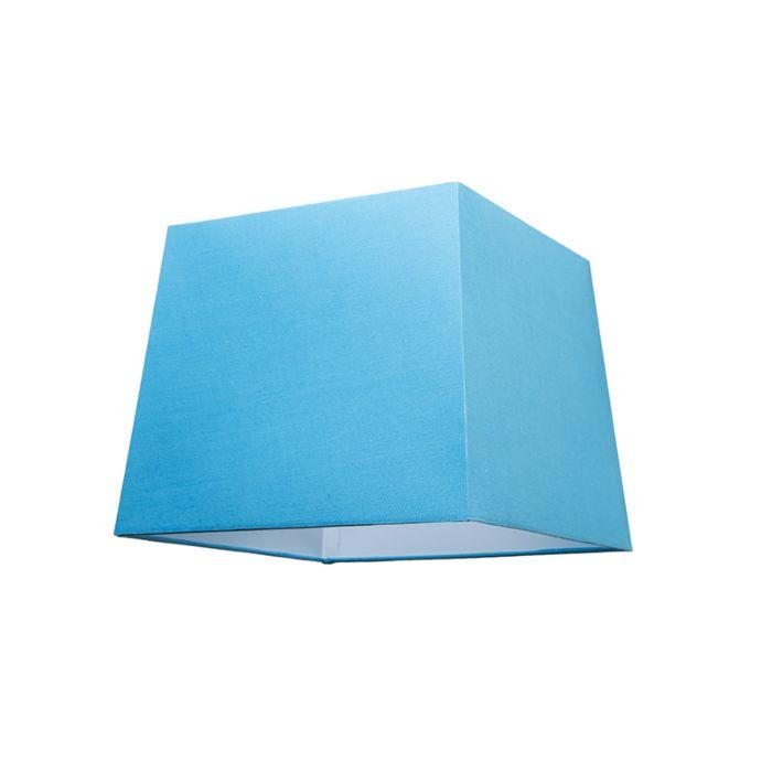 Lampenschirm-30cm-quadratisch-SU-E27-hellblau