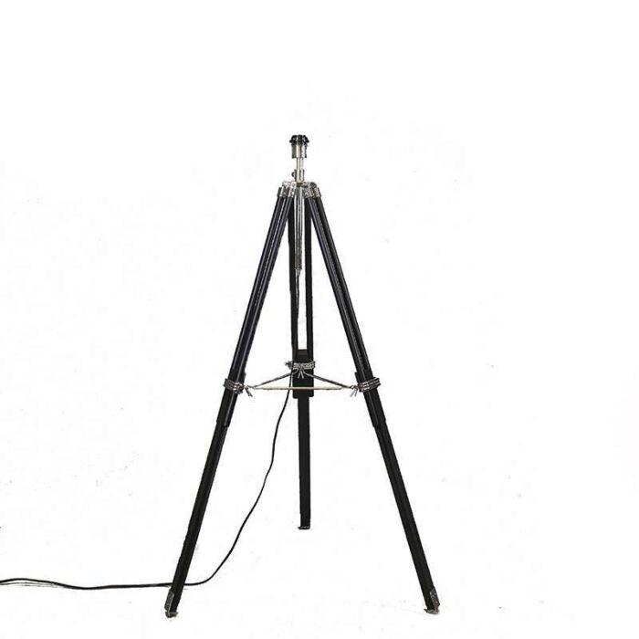 Stativ-Stehleuchte-schwarz-ohne-Schirm
